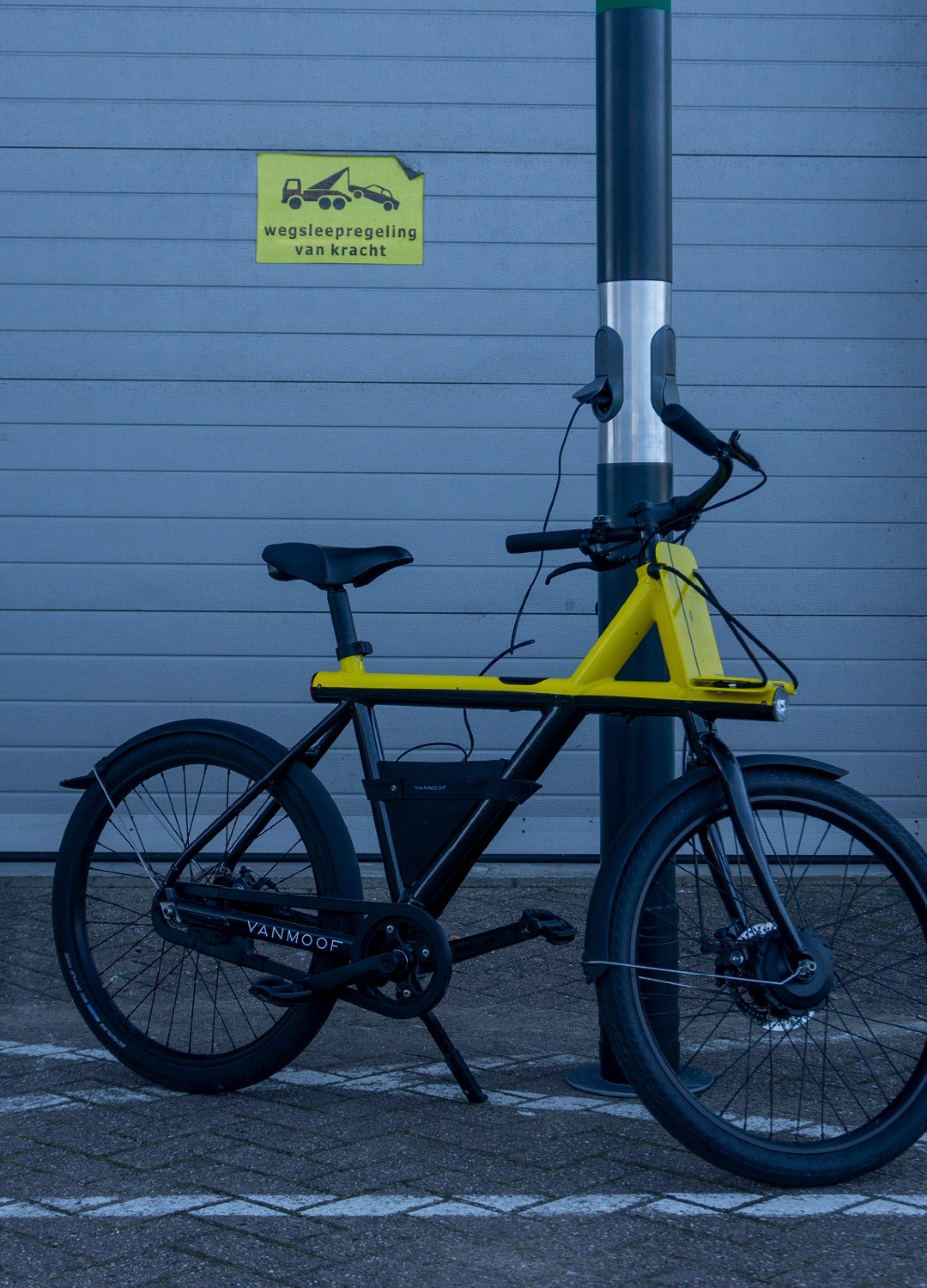 Laadpaal voor elektrische fietsen